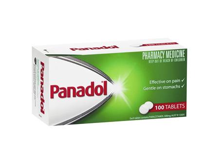Panadol Tablets 100 Tabs