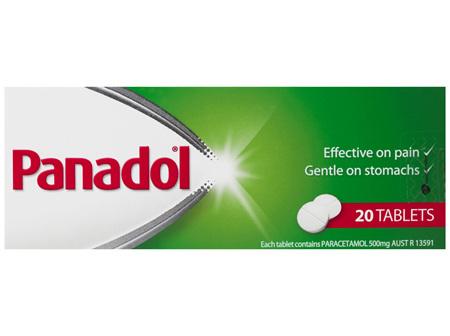 Panadol Tablets 20 Tablets
