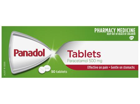 Panadol Tablets 50 Pack