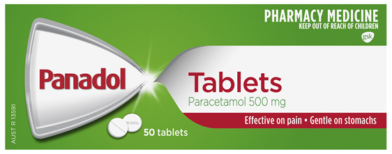 Panadol Tablets 50 Pack