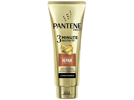 Pantene Pro-V 3 Minute Miracle Repair & Protect Conditioner 180mL