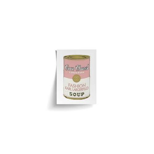 Papier HQ Coco Chanel Soup Pink A4