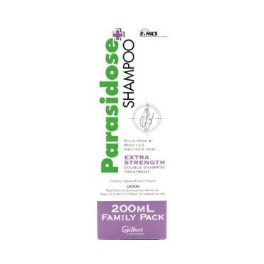 Parasidose Extra S/Poo 200ml