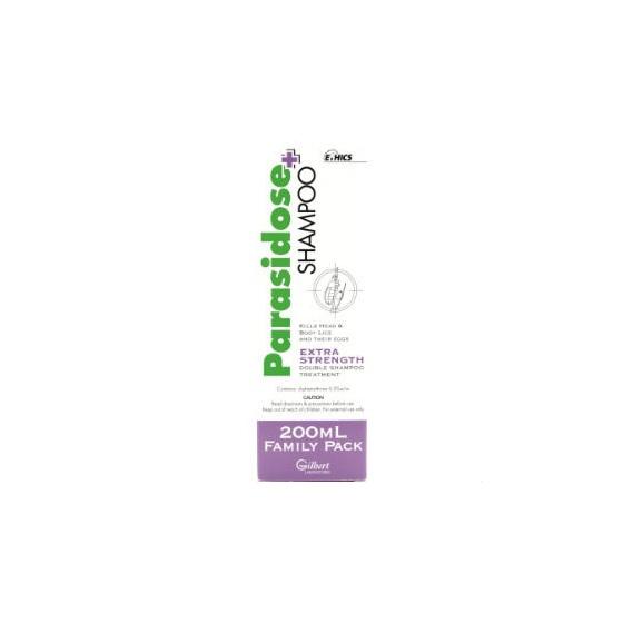 Parasidose Extra Shampoo 200ml