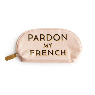 Pardon My French - Cosmetic Bag