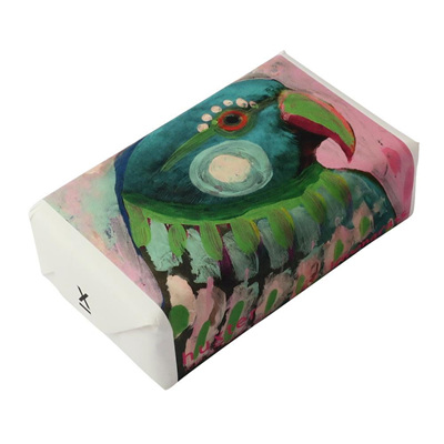 Parrot' Wrapped Soap - Lemongrass