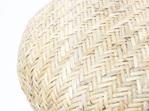 Peel Barstool Natural - Teak & Natural Rattan 68cmh