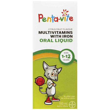 Penta-Vite Childrens Liquid 100mL