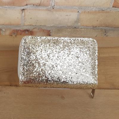 Petite Lux Glam Purse - Silver