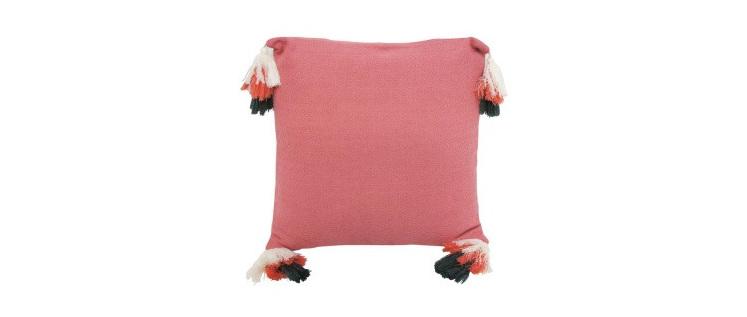 Petrie Cushion - Coral 50x50cm