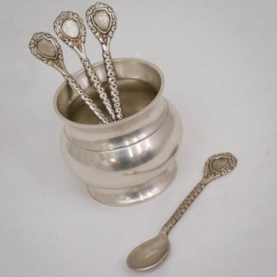 Pewter Teaspoon