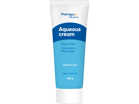 Pharmacy Choice -  Aqueous Cream Tube 100mL