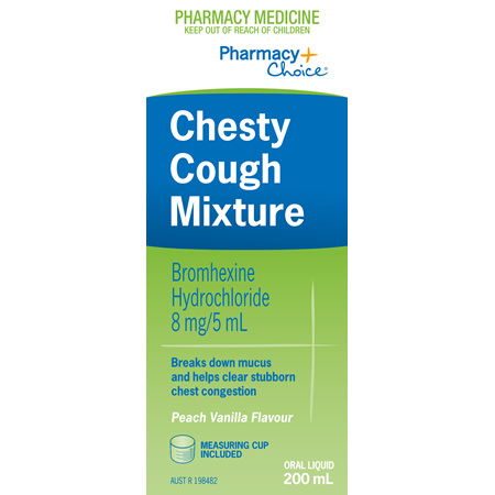 Pharmacy Choice -  Chesty Cough Mixture 200mL