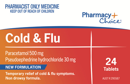 Pharmacy Choice -  Cold & Flu 24 Tablets