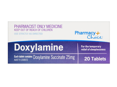 Pharmacy Choice -  Doxylamine 20 Tablets