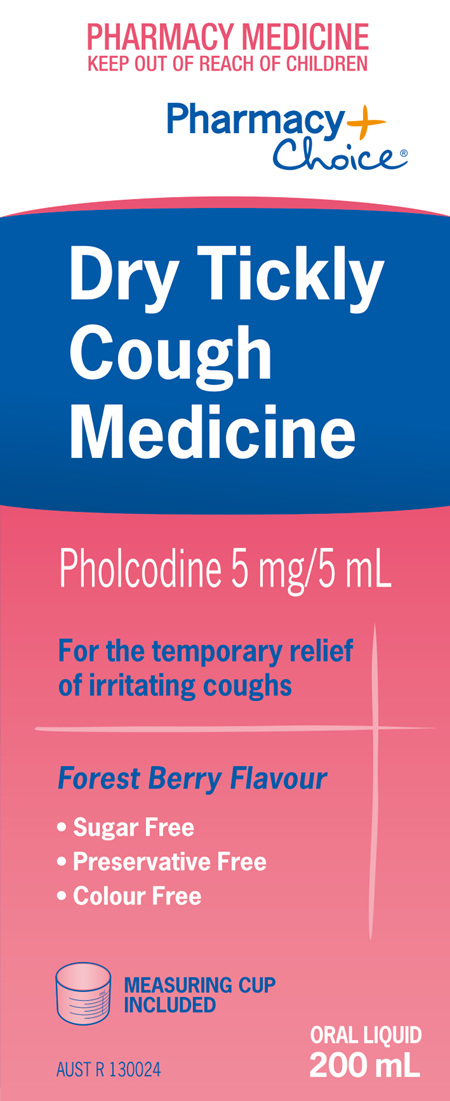 Pharmacy Choice -  Dry Tickly Cough 200mL