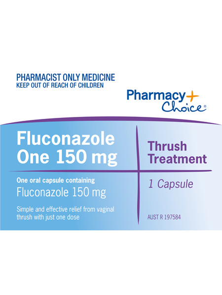Pharmacy Choice -  Fluconazole One 150mg Capsule
