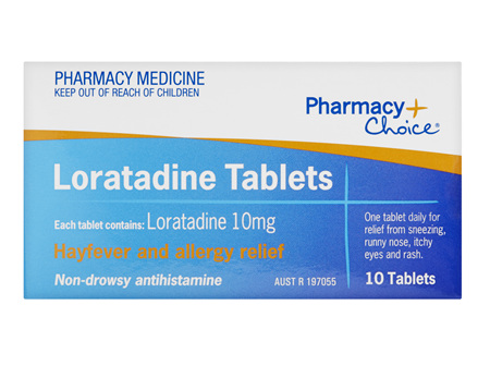 Pharmacy Choice -  Loratadine 10 Tablets