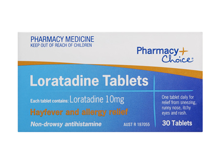 Pharmacy Choice -  Loratadine 30 Tablets