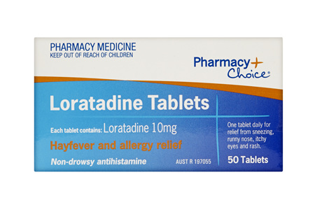 Pharmacy Choice -  Loratadine 50 Tablets