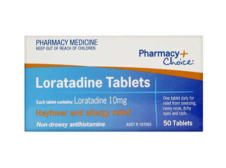 Pharmacy Choice -  Loratadine 50 Tablets