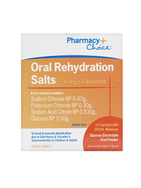 Pharmacy Choice -  Oral Rehydration Salts Sachet 10's