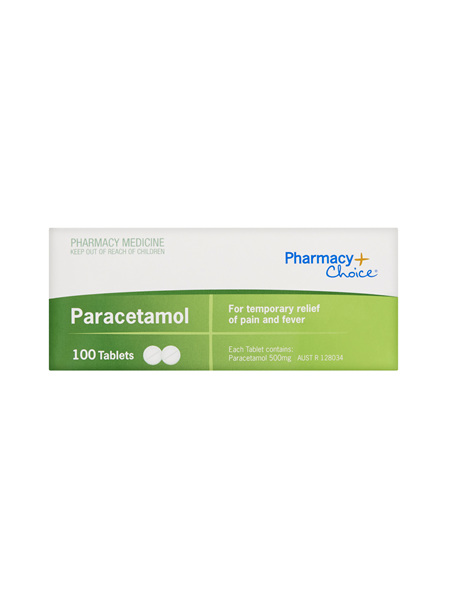 Pharmacy Choice -  Paracetamol 100 Tablets