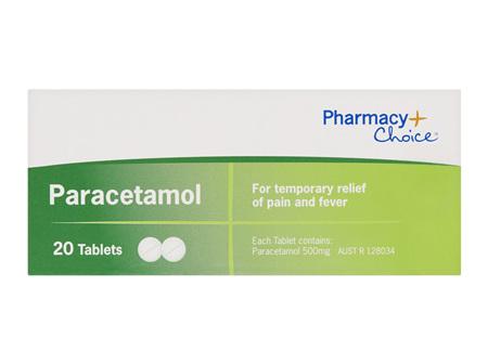 Pharmacy Choice -  Paracetamol 20 Tablets