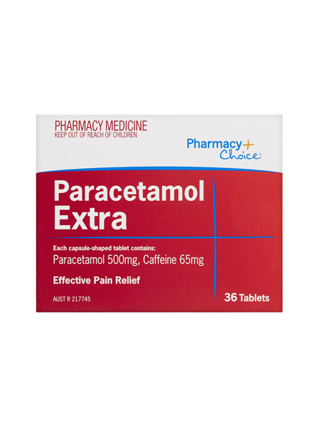 Pharmacy Choice -  Paracetamol Extra 36 Tablets