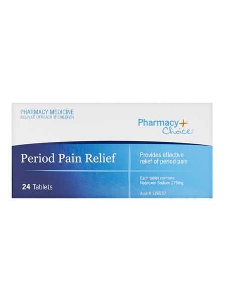 Pharmacy Choice -  Period Pain 24 Tablets