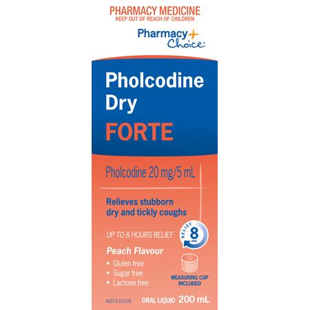 Pharmacy Choice -  Pholcodine Dry Forte 200ml