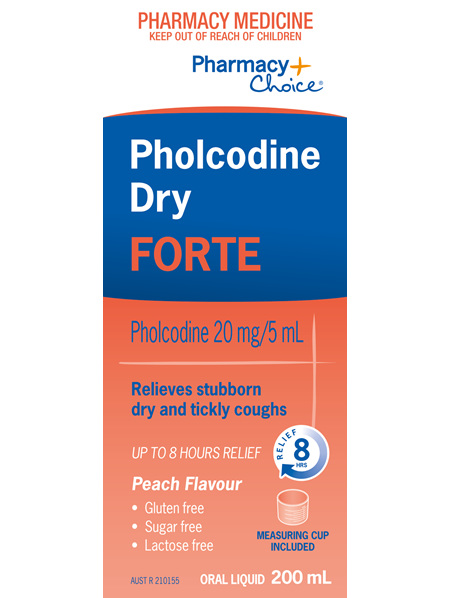 Pharmacy Choice -  Pholcodine Dry Forte 200ml