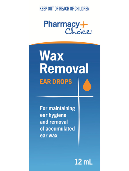 Pharmacy Choice -  Wax Removal Ear Drops 12ml