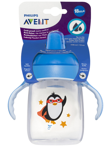 Philips Avent Spout Cup with Handles Blue 6m+ 200mL