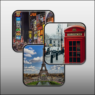 Photo  Coasters ( set of 4 ) $24.95