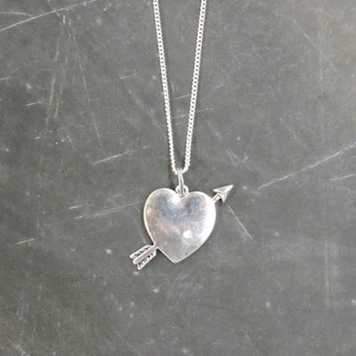 Pierced Heart Necklace