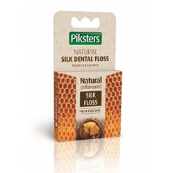 PIKSTERS Silk Dental Floss Unflavoured 25m