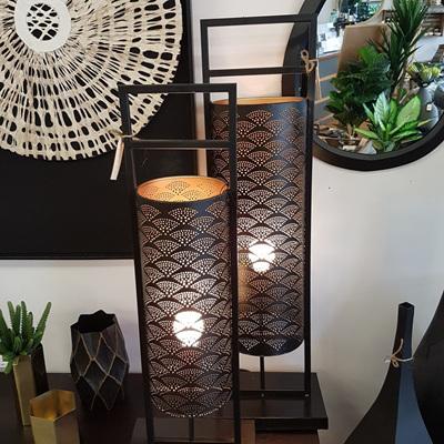 Pilla Metal Lamp - Black/Large