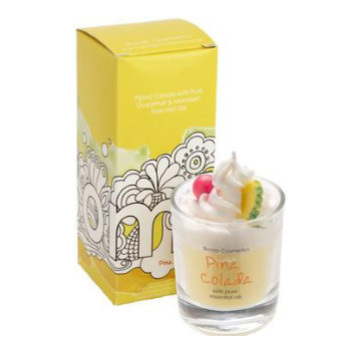Pina Colada Pipped Candle