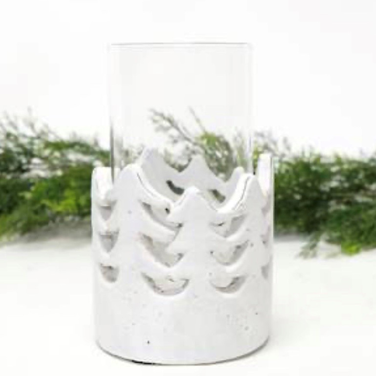 Pine Tree Hurricane w/Glass