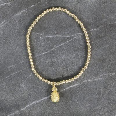 Pineapple Bracelet - Gold