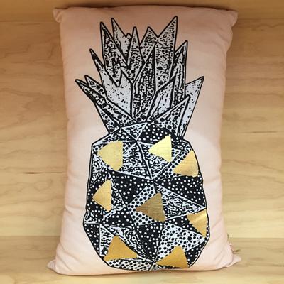 Pineapple Stamp Cushion