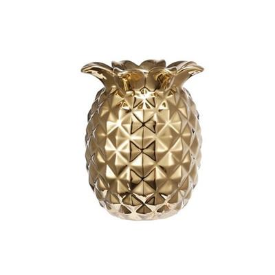 Pineapple Vase - Gold