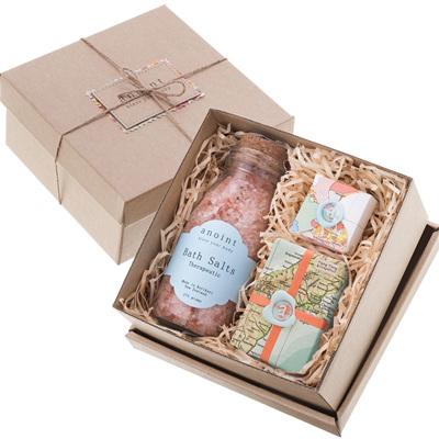 Pink Bath Salt Gift Set