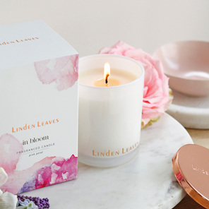 Pink Petal Soy Candle
