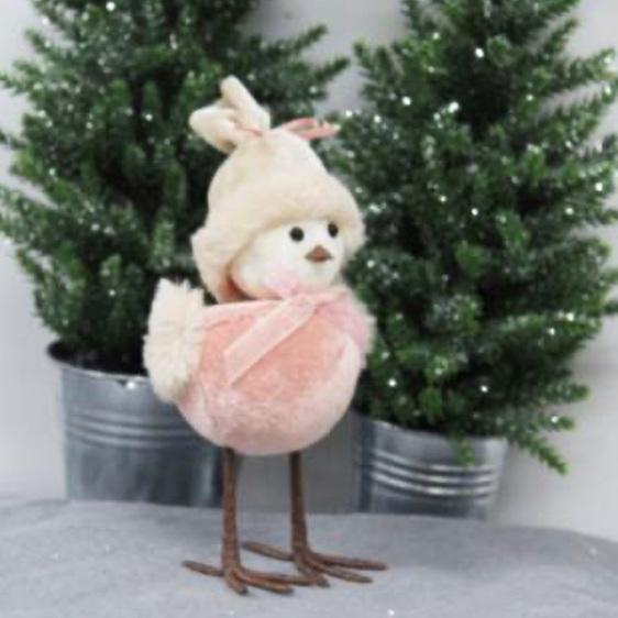 Pink Velvet Bird