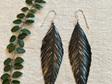 Pinned earrings