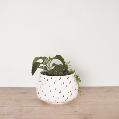 Lights Pattern Planter - Large