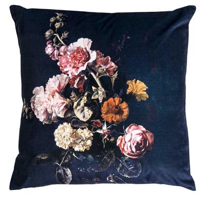 Plush Bouquet Square Cushion
