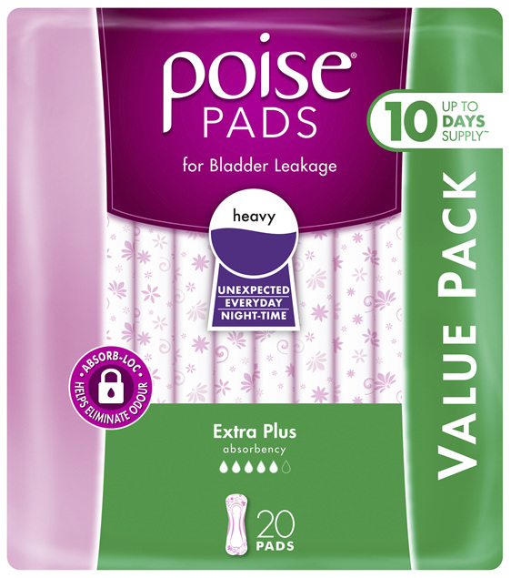 Poise Pads Extra Plus 20 Pack